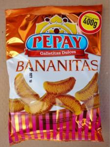 recorte de bananitas x 400g
