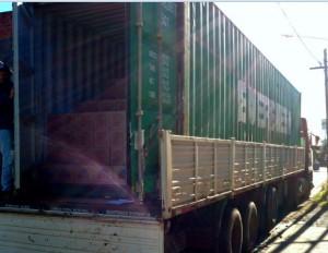 carga de contenedor